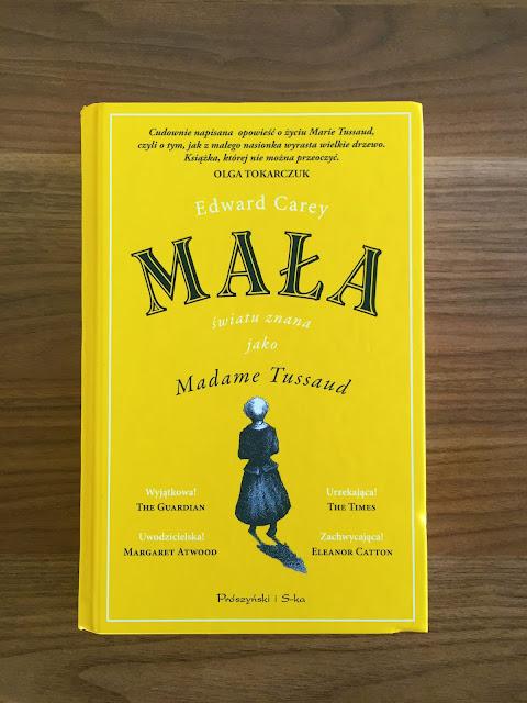 """Recenzja #174 - """"Mała światu znana jako Madame Tussaud"""" - okładka książki - Francuski przy kawie"""