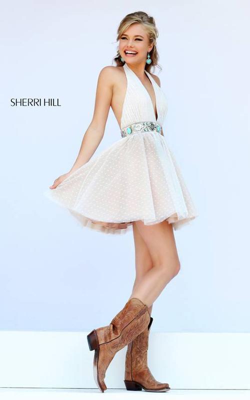 bddec88f2e2 Evermiss Beauty Short Sexy Sherri Hill Homecoming Dresses 2015