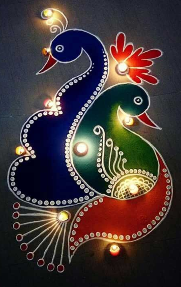 Diwali Rangoli 2019: Images, Wishes, SMS, Quotes to Share with Your Loved Ones