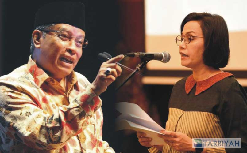 Said Aqil vs Sri Mulyani