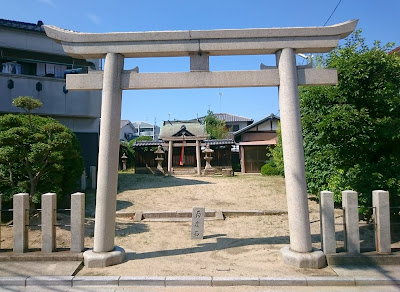 軽羽迦神社(羽曳野市)