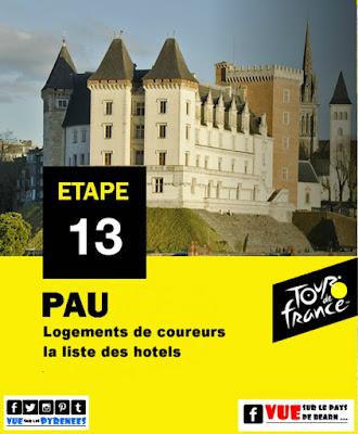 Ou approcher les sportifs Tour de France 2019 Pau
