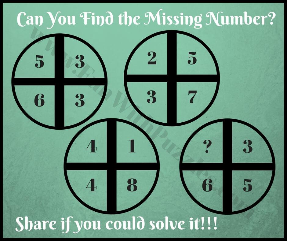 Mathematical Cross Circle Fun Brain Teasers - Fun With Puzzles
