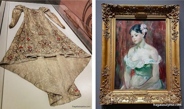 """Nashville: Exposição """"Paris 1900"""" no Frist Art Museum (Museu de Arte Frist). Tela """"Retrato de uma Jovem, de Berthe Morisot"""