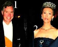 Prince Guillaume et princesse Sibilla de Luxembourg