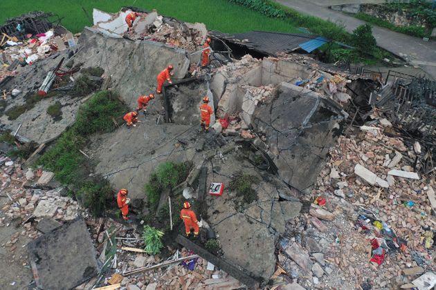 Κίνα: Ισχυροί σεισμοί στα 6 και στα 5,1 Ρίχτερ - Αυξάνονται οι νεκροί και τραυματίες
