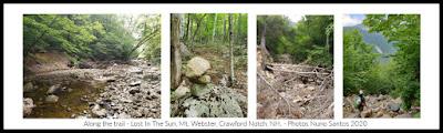Mt. Webster, Crawford Notch, multi pitch rock climbing