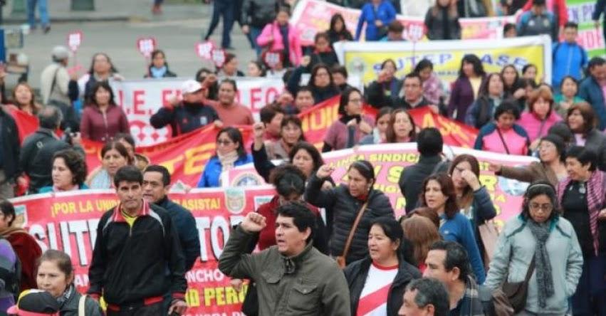 Gobierno congelará cuentas de gobiernos regionales que paguen a maestros en huelga