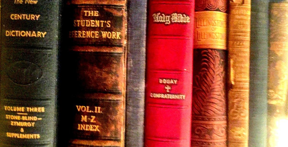 Vintage Old Books