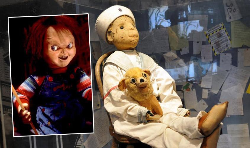 robert doll, chucky doll