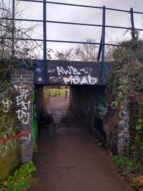 Railway Bridge, Romsey, Coldhams Common, Cambridge, Terminalia, Psychogeography