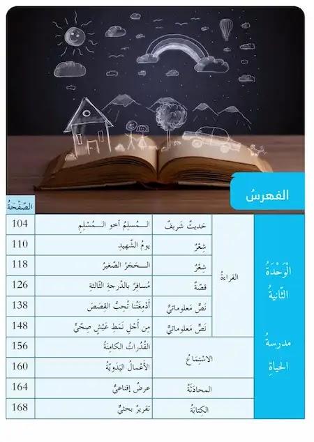 كتاب الطالب لغة عربية الصف الثامن الفصل الأول2021-2022 مناهج الامارات