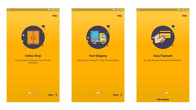 Flutter E-Commerce UI - 1