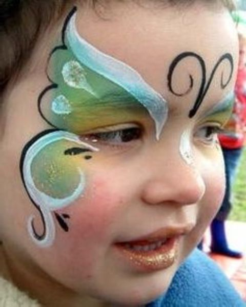 Face Painting Ideas For Kids Butterfly