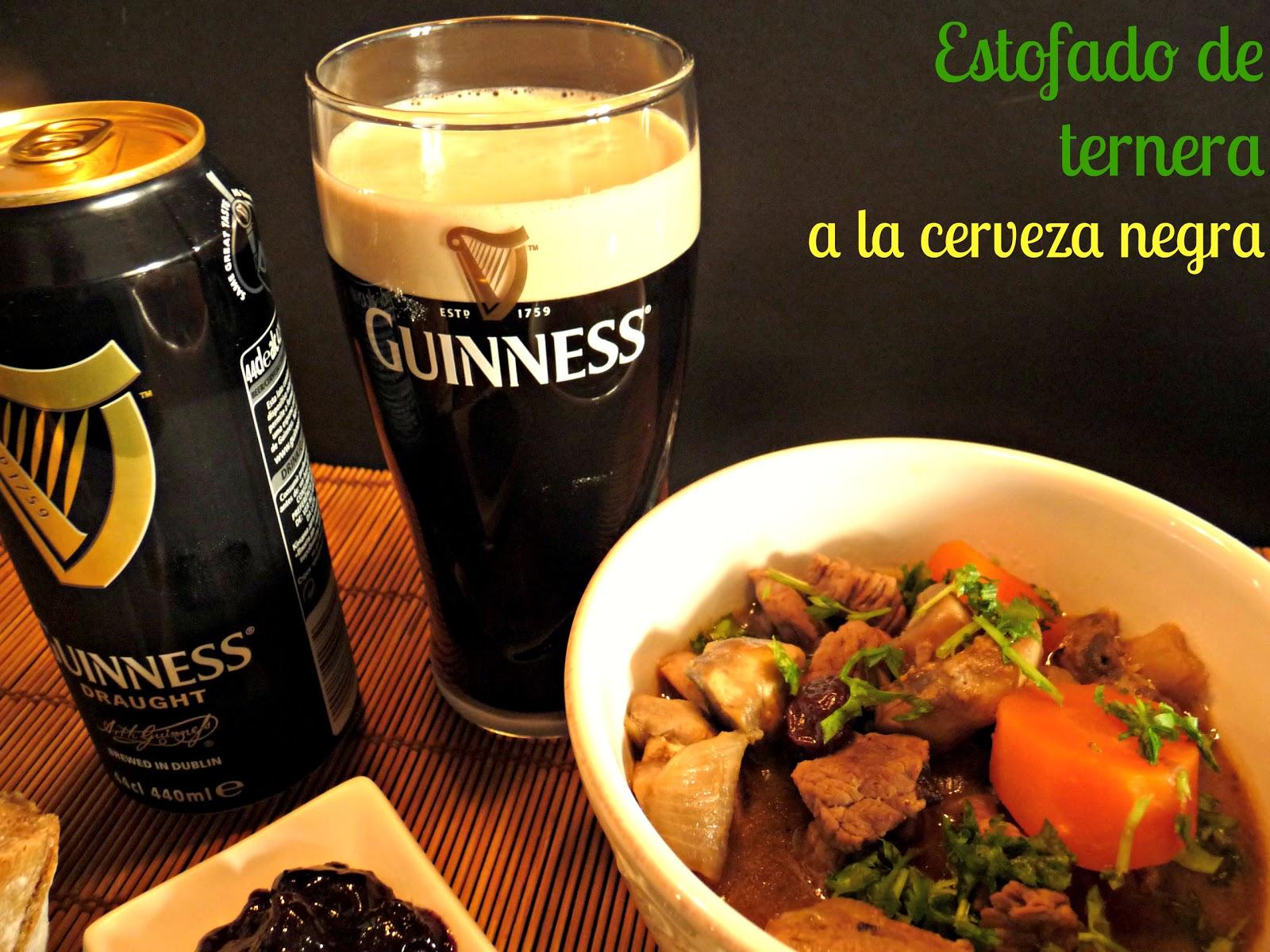 Estofado de ternera en Guinness