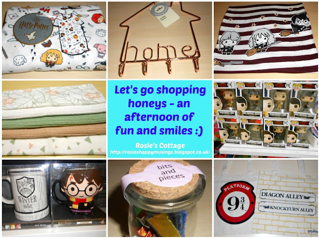 Let's go shopping honeys - An afternoon of fun and smiles :)