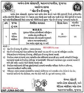 UHS Junagadh Jobs