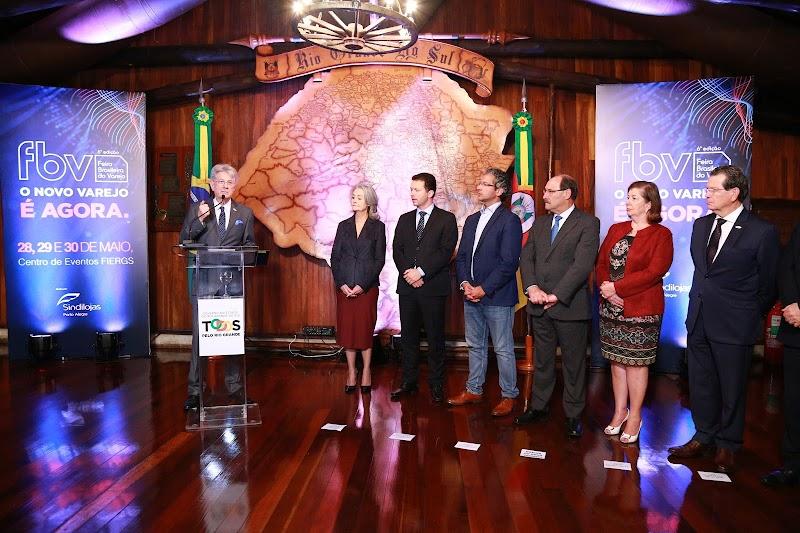 6ª edição da Feira Brasileira do Varejo tem lançamento oficial no Palácio Piratini