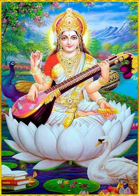 Saraswati Ashtottara Shatanamavali 108 Names Goddess Saraswathi