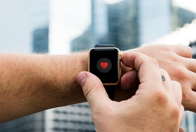 Person Operating Smartwatch HD Copyright Free Image