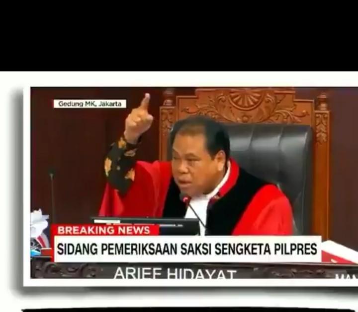 Heboh Hakim MK Ancam Usir Kuasa Hukum 02 Saat Bela Saksi