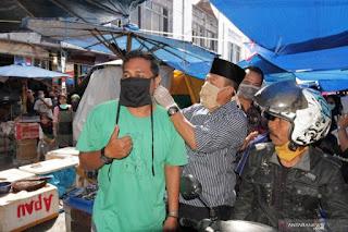 pemkab tanah datar bagi masker
