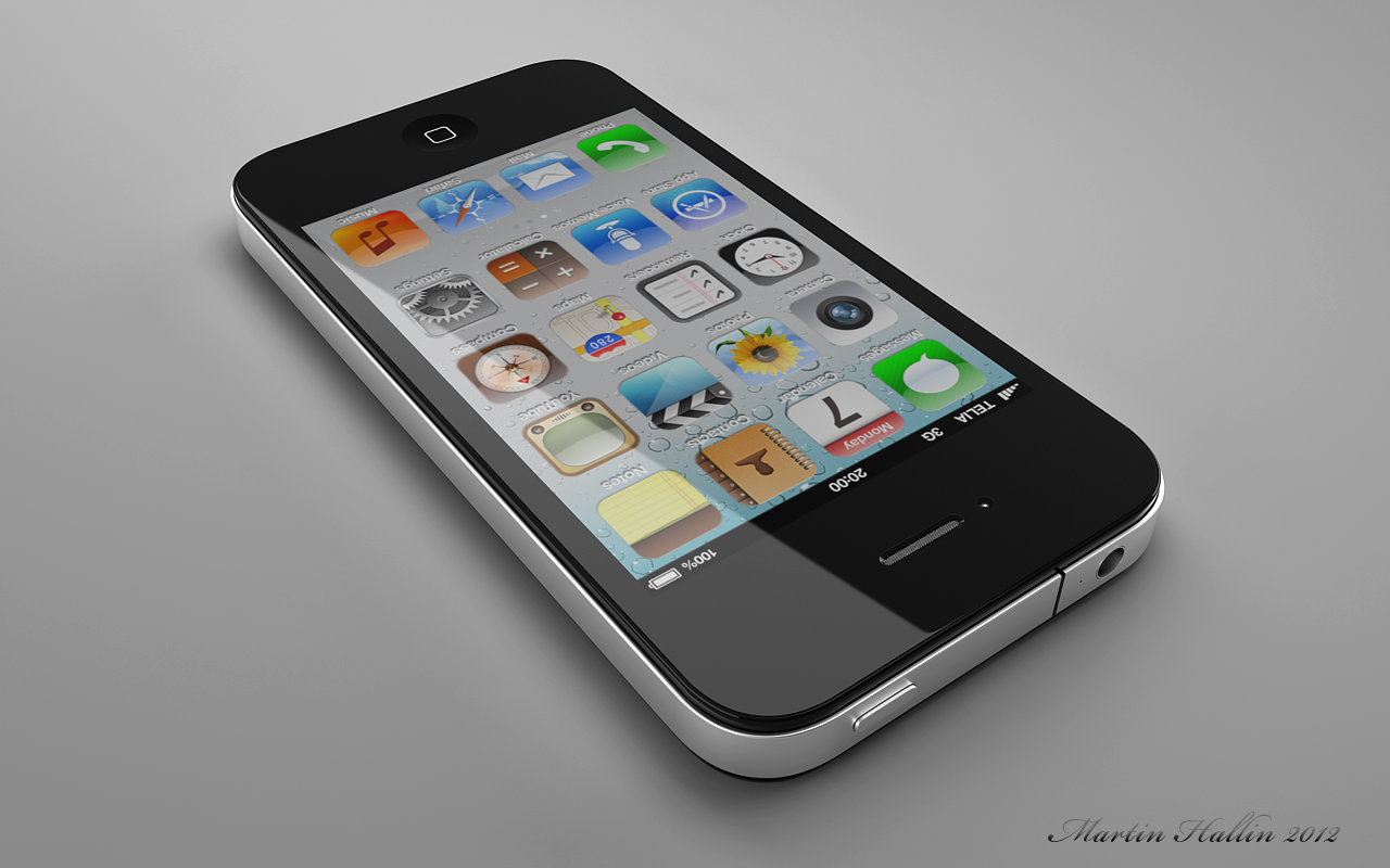 Point 3D: 3d Model Of IPhone 4