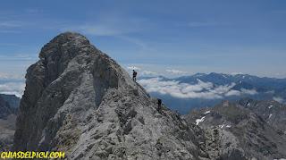 fernando Calvo , Guia de alta montaña picos de Europa , rab, lowe alpine, camp, zamberlan