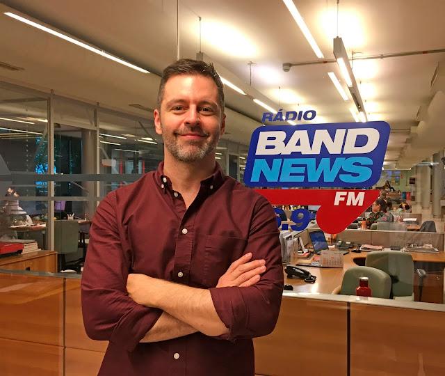 Maurício Arruda estreia como colunista da BandNews FM