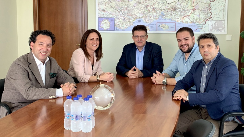 Συνάντηση Πέτροβιτς με το Δ.Σ. του Εμπορικού Συλλόγου Αλεξανδρούπολης