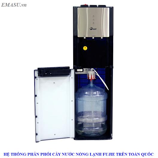 Cây nước nóng lạnh cao cấp FujiE WD5500C (bình nước âm đặt dưới)