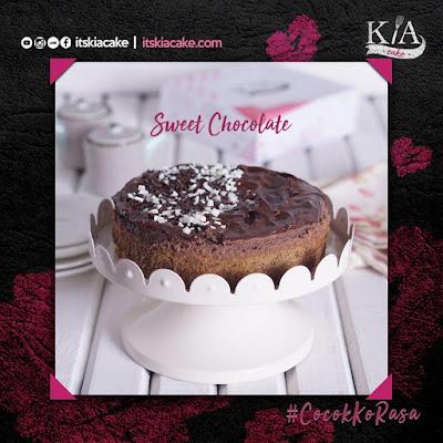 kia cake varian sweeat chocolate