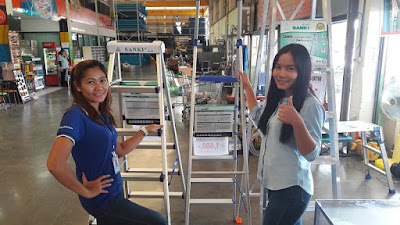 Buriram Thailand USA Class 1AA Step Ladders