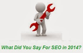 What Did You Say For SEO in 2014?