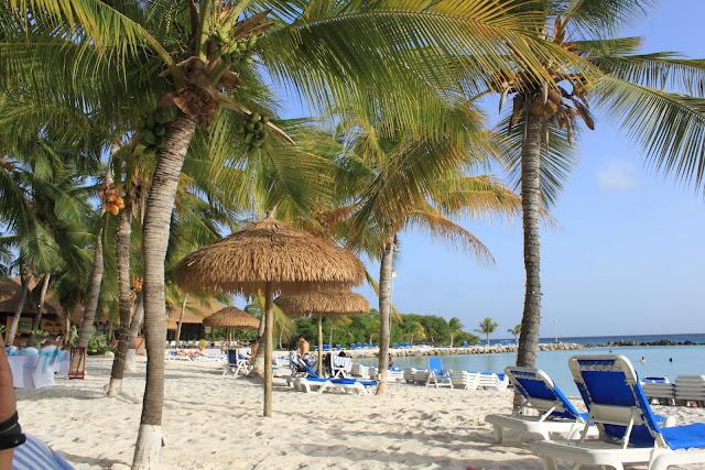 praia particular do Renaissance Aruba Resort & Casino, em Oranjestad, capital de Aruba