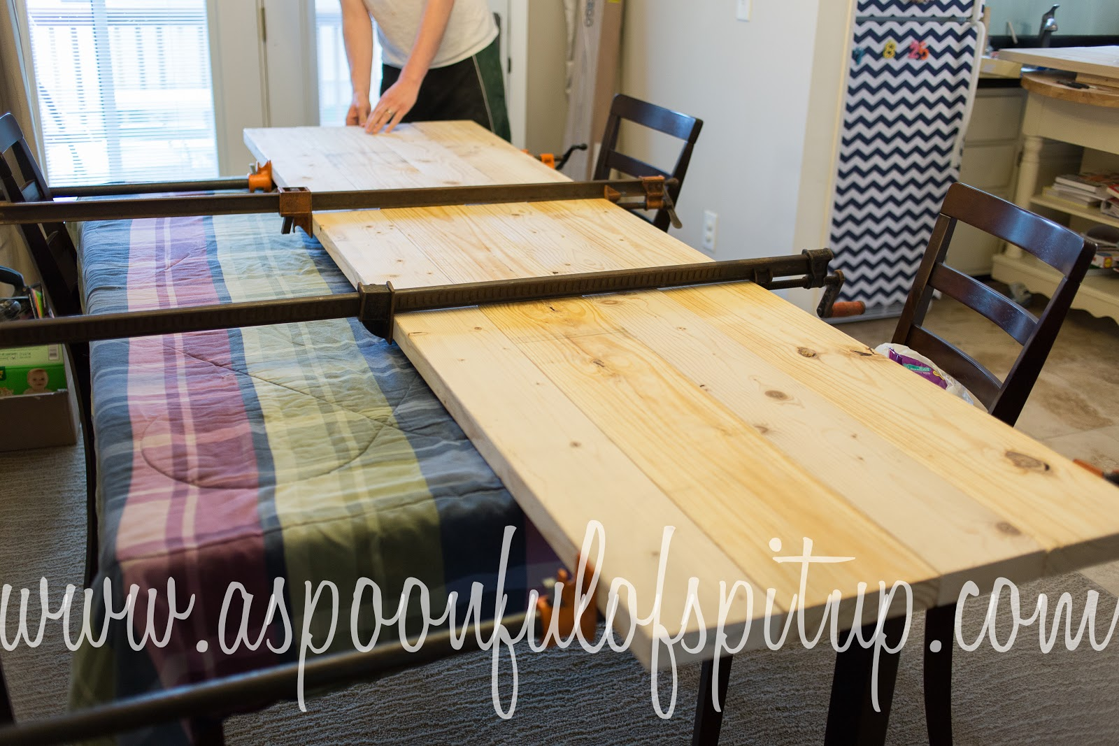 A Spoonful of Spit Up: DIY Wood