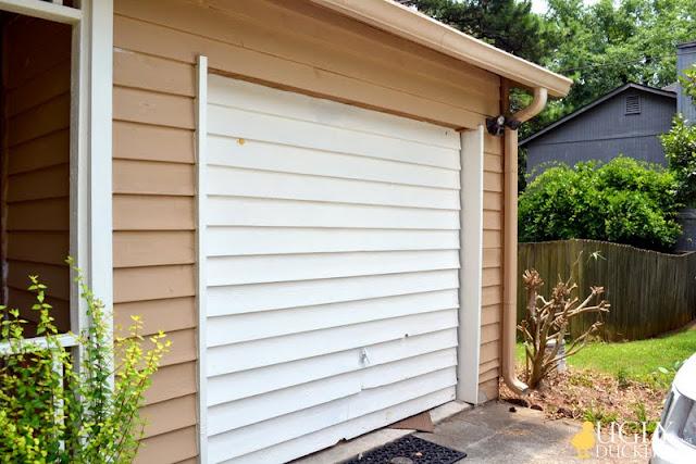 front garage door