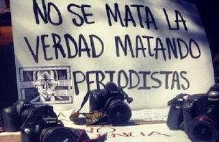 NO SE MATA LA VERDAD, MATANDO PERIODISTAS: Comunicadores Norte de Veracruz