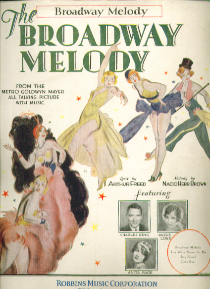 The Broadway Melody 1929 movieloversreviews.filminspector.com
