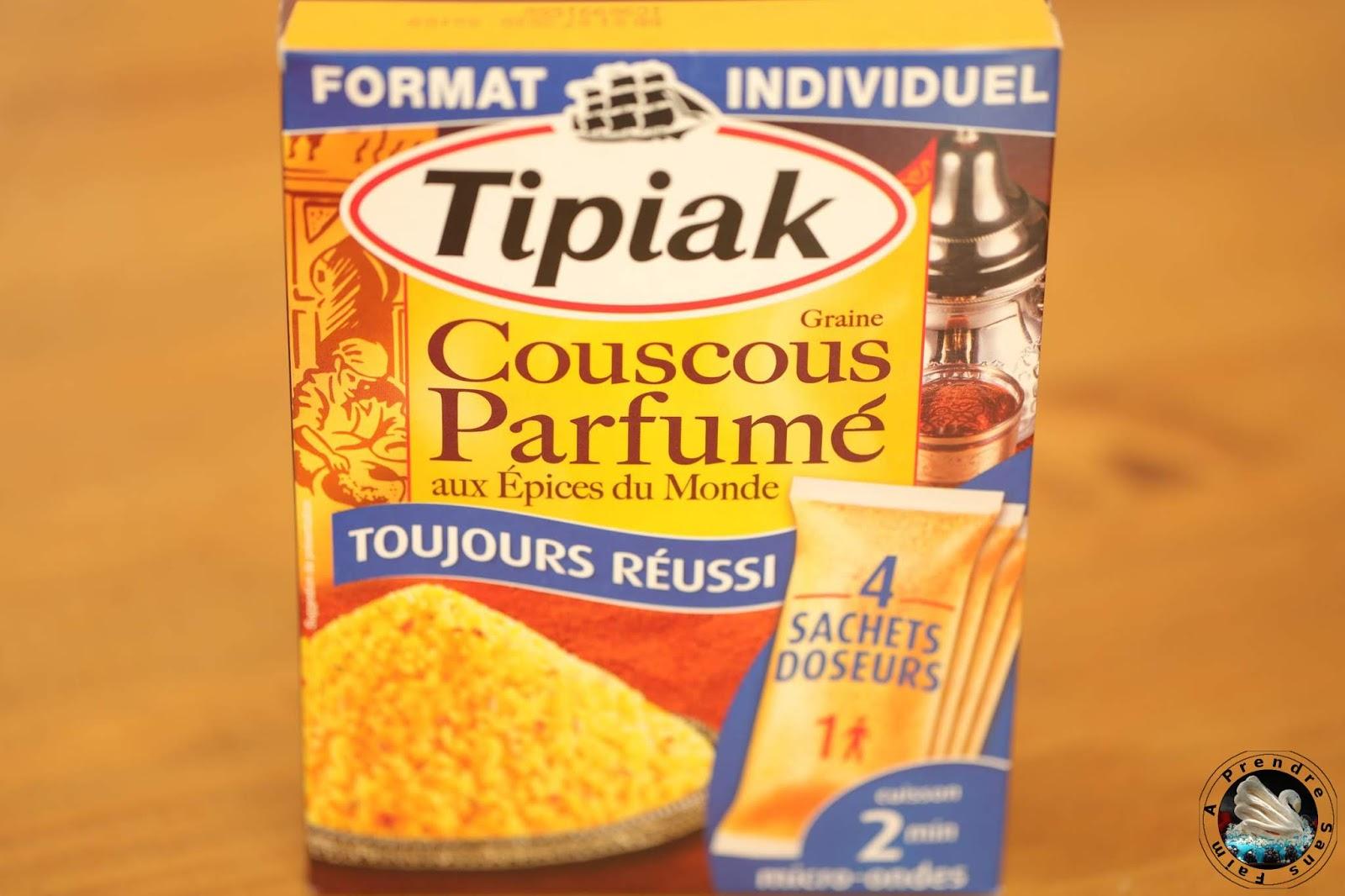 Couscous parfumé aux épices poulet et légumes