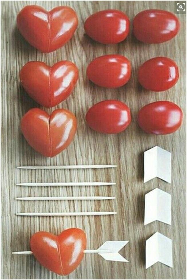 kalp şeklinde domates