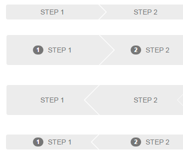CSS Arrows for Wizard Progress - Top jQuery Plugins - Free