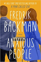 Anxious People by Fredrik Backman (Book cover)