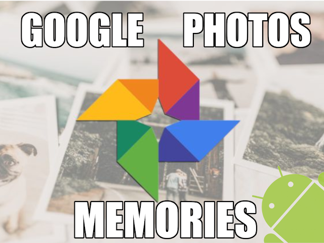 Conoces las memorias de google fotos
