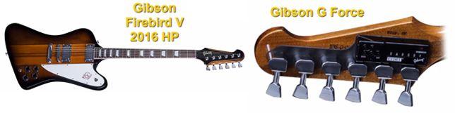 Gibson Firebird V 2016 HP con Clavijas de afinación Gibson G Force