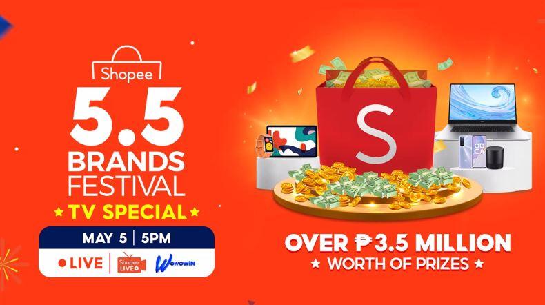Shopee 5.5 Brands Festival TV Special