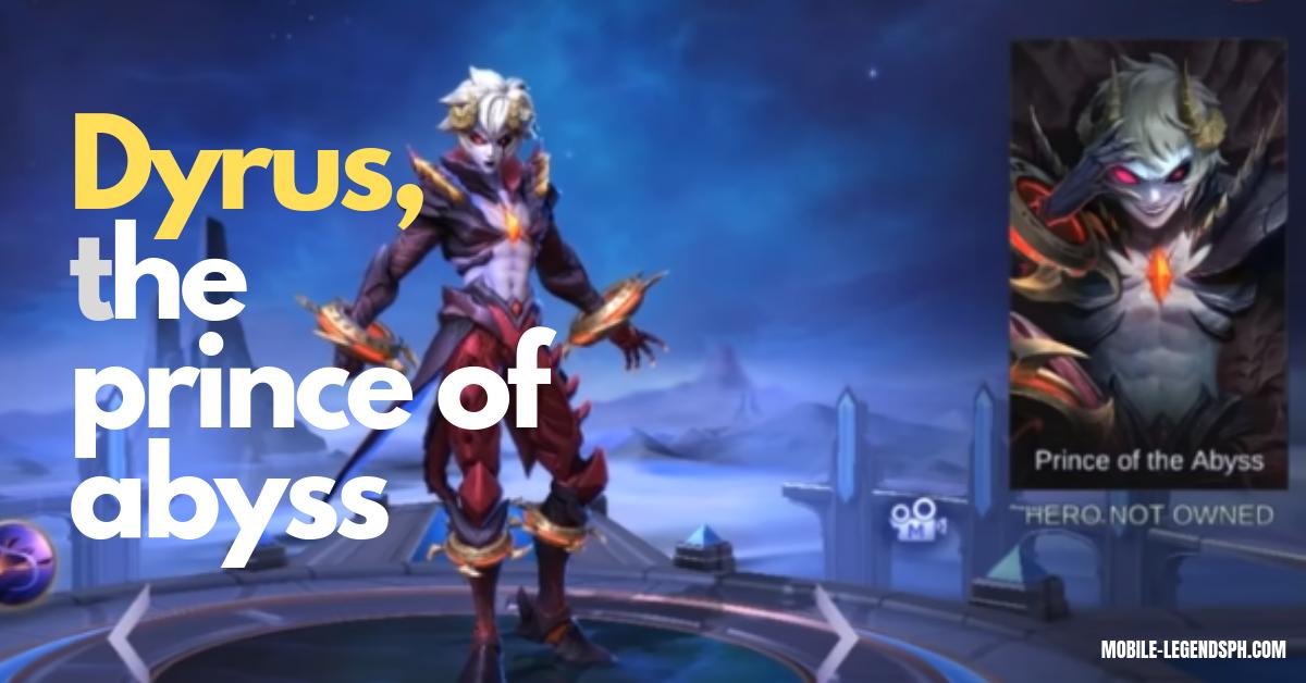 Dyrroth, Mobile Legends | Skills Description