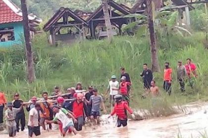 Pemuda Yang Hanyut di Sungai Kalongan Gunungkidul Ditemukan Tewas