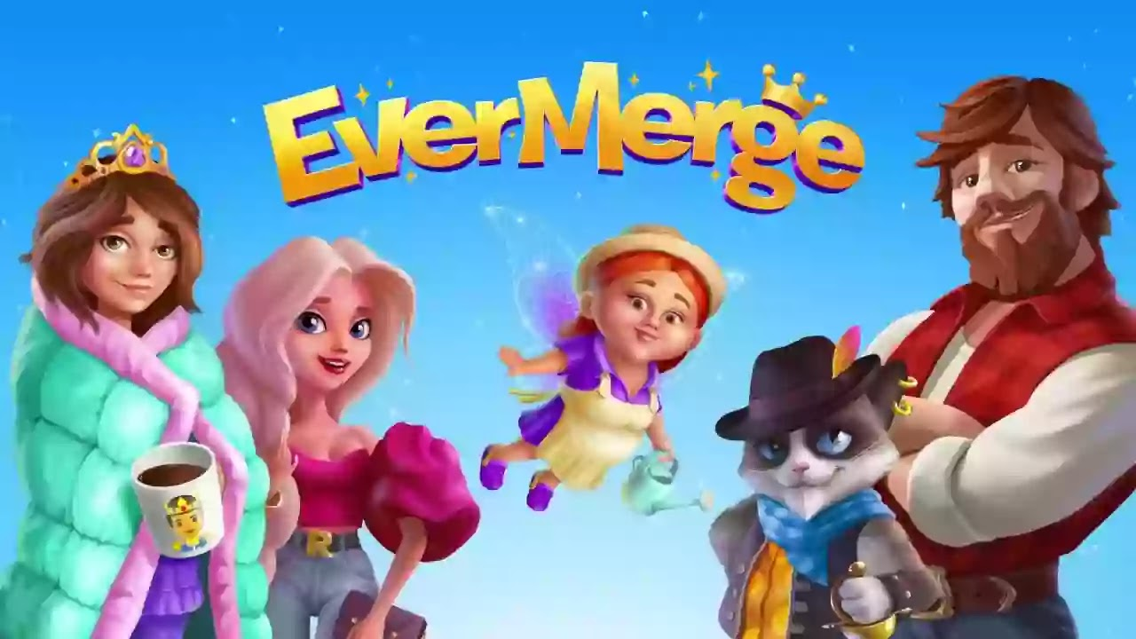 EverMerge  سيجد لاعبي Android أنفسهم يستمتعون بلعبة الدمج المثيرة مع الكثير من الأشياء التفاعلية التي يمكنك دمجها وإنشائها.
