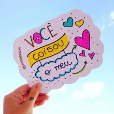 Mensagens coloridas